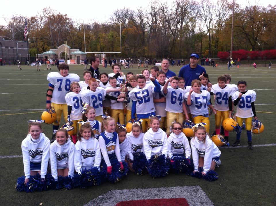 Vikings Reserve Football Team Wins Championship